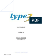 Type 3 Help