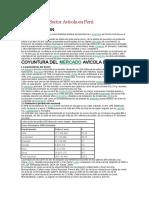Evolución del Sector Avícola en Perú carne