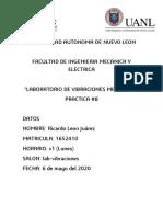 practica #8 VBM