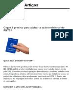 O que é preciso para ajuizar a ação revisional do FGTS_ _ Artigos Jusbrasil