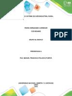 INFORME DE PRACTICA SISTEMAS AGROINDUSTRIAL PEDRO HNDZ COD 88244602