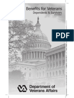 Federal Benefits for Veterans, Dependents and Survivors 2010