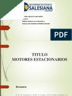 Motores estacionarios