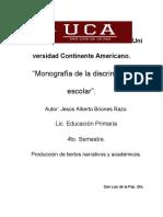 Examen Final Monografia