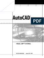 AutoCAD 2000 Visual LISP Tutorial - 140 Pages