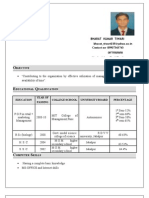 bharat resume97