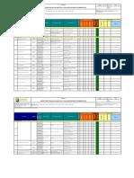 Matriz de Identificacion de Aspectos y Evaluacion de Impactos Ambientales