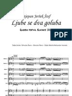 Stjepan Jeršek Štef - Ljube se dva goluba