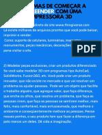 10 FORMAS DE COMEÇAR A EMPREENDER COM UMA IMPRESSORA 3D (1).pdf