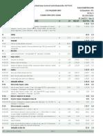 Planilha Orçamentária da Obra
