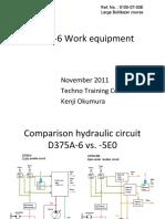 D375A-6 Work equipment