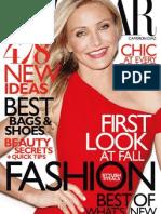 1824ec677d20 Harpers Bazaar - January 2014 USA