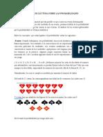 1INFORME DE LECTURA SOBRE LAS PROBABILIDADES
