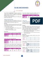 CUADRO DE DECISIONES 3ERO SECUNDARIA