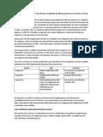 Implementación de las NIIF y las NIC para la adopción de NIIF por primera vez con base en la ley 1314 de 2009
