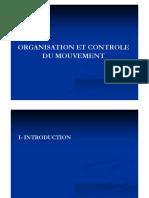 Organisation et contrôle du mouvement