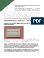 Camattari Luigi Notizie