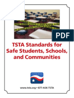 Tsta Standards for Safe Schools