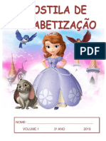 Apostila-alfabetizacao volume1