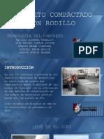 CONCRETO COMPACTADO CON RODILLO - PRESENTACIÓN