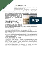 CALIDAD DEL AIRE - VILCA FERNANDEZ BRAYAN