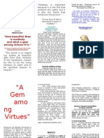Gem Among Virtues Pamphlet