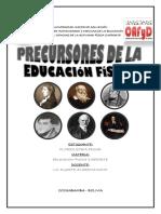 PRECURSORES DE LA EDUCACION FISICA