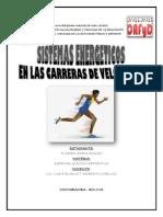 SISTEMAS ENERGETICOS EN LAS CARRERAS DE VELOCIDAD