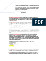 EXAMEN PARCIAL DE TÓPICOS ESPECIALES DE INGENIERÍA DE SISTEMAS E INFORMÁTICA