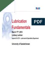 PDF Mobil Lubrication Fundamentals; By Lindsay Lackner