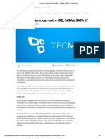 Controladora de disco rígido IDE, SATA