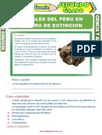 Los-Animales-del-Peru-en-Peligro-de-Extincion-para-Segundo-Grado-de-Primaria.doc