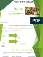 DIAPOSITIVAS SOBRE DERECHO DE SUCESIONES EN ROMA