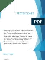 PROYECCIONES DIBUJO TECNICO I