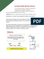 1. AUTOMATIZACION DE PLANTAS