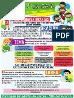 CATEQUESIS EN CASA TEMA 11