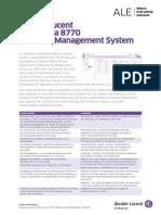 omnivista-8770-network-management-system-datasheet-fr