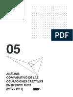 Informe #5 - Análisis comparativo de las ocupaciones creativas (2012-2017)