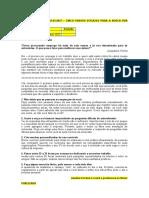 B 2020 - Coluna 323 – Cinco passos para a busca por emprego