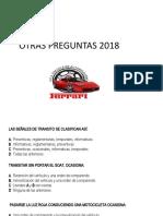 OTRAS PREGUNTAS 2018