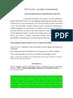 FILOSOFIA DA EDUCAÇÃO_Desafio Colaborativo