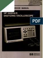 HP54201AD Service Manual