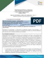 Guia de actividades y Rúbrica de evaluación - Fase 3 - problema de diseño experimental de un factor.pdf