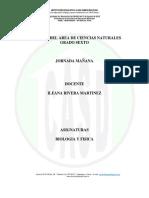6-BIOLOGIA-FISICA-TALLERES DE CIENCIAS NATURALES (Biologia  y fisica) -JM-DOCENTE - ILEANA RIVERA