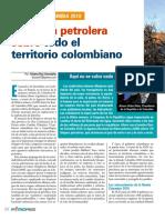 ofensiva petrolera sobre todo el territorio colombiano