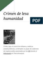 Crimen de lesa humanidad - Wikipedia, la enciclopedia libre.pdf