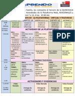 Actividades de Plataforma   QUINCEAVA semana 6 A - 2020 -OK