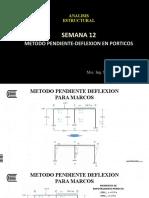 METODO PENDIENTE-DEFLEXION PORTICOS