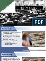 PubAd Report - Bureaucracy