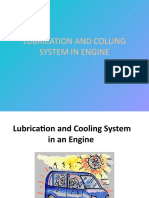 LUBRICATION AND COLLING SYSTEM IN ENGINE